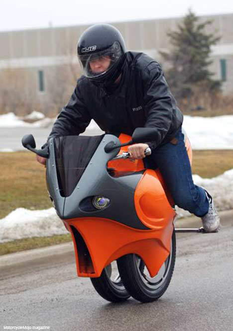 Segway Technology in a Motorcycle