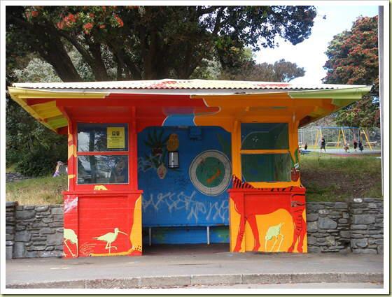 Bus Stops Around The World.