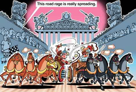 Cartoon world: Contemporary Indian Cartoons
