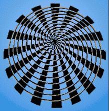 Optical Illusions, Color Blindness Tests, Illusions by Akiyoshi Kitaoka