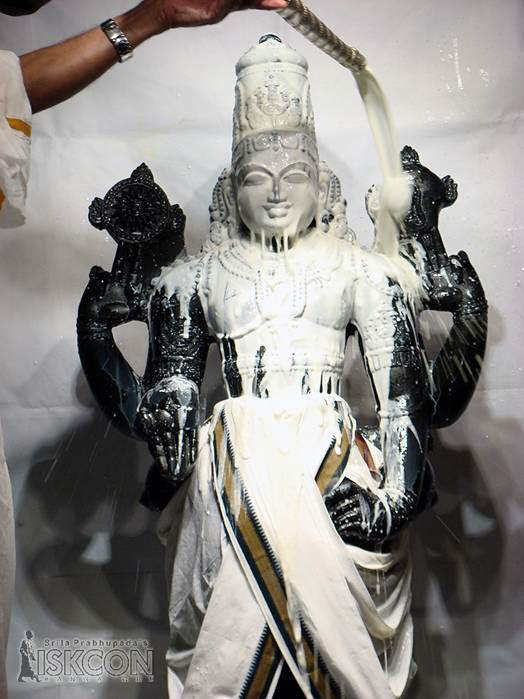 Lord Srinivasa Govinda at ISKCON, Bangalore