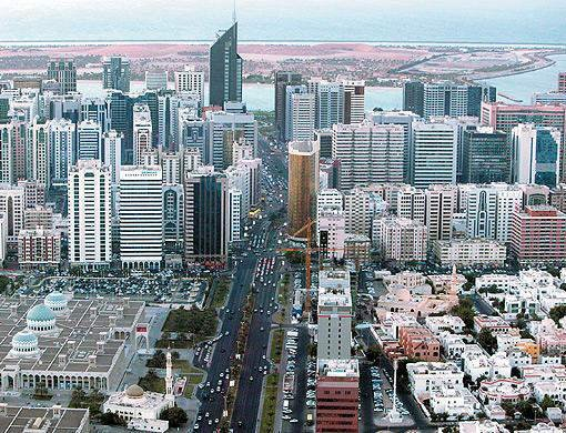Abu Dhabi From The Sky