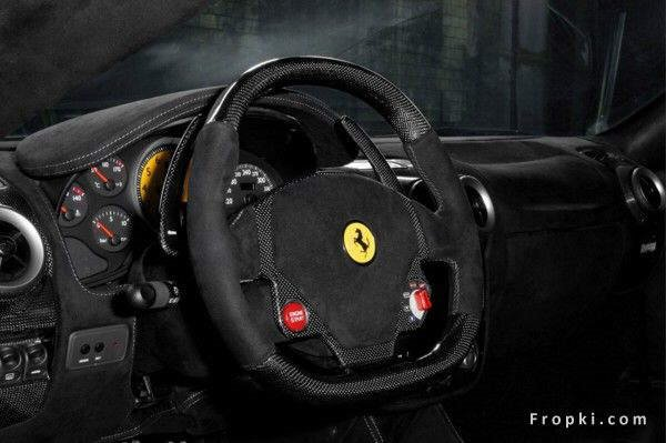 Photos: Ferrari TuNero. 0 to 62 mph (100 kmph) in 3.5 seconds! Top speed of 216 mph - the acceleration alone is 0.8g!!!
