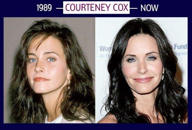 $$ .,.,. Celebs That Hardly Change Over Time .,.,. $$ Demi Moore, Courteney Cox, Nicole Kidman, Kylie Minogue, Madonna, Jennifer Aniston .,.,. $$