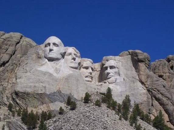 Do you know What's on the other side of Mt. Rushmore ??