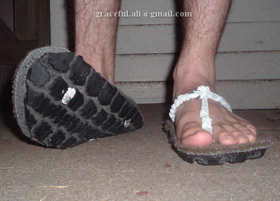 DIY... Make your own Slipper (He he)