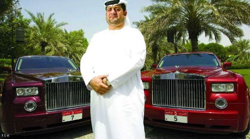 Businessman spent 36 Million Dirhams to buy two number plates!!!