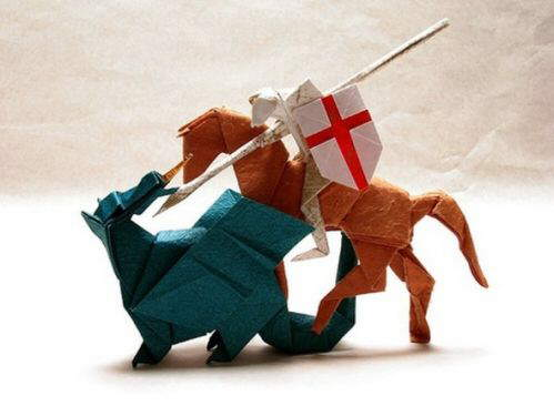 Origami Art - Too good to be true!