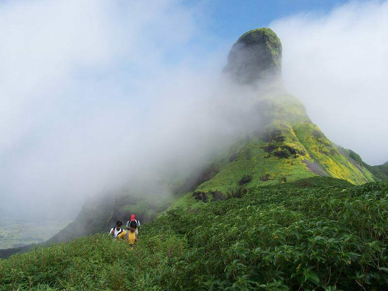 Rathnagiri Mountain SRI LANKA. Also known as Sri Pada, Adam's Peak or Adam's Mount
