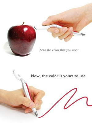 New concept technology >> Colour scan pen