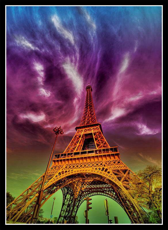 Beauty of Eiffel Tower, Paris
