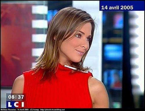 Beautiful TV Anchor Melissa Theuriau