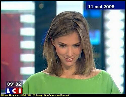 Beautiful TV Anchor Melissa Theuriau
