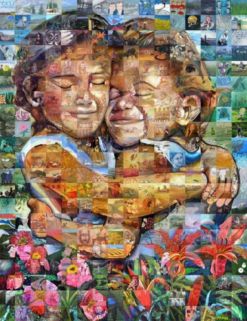 Beautiful Mosaic Art
