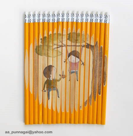 Pencil Art (Attractive)