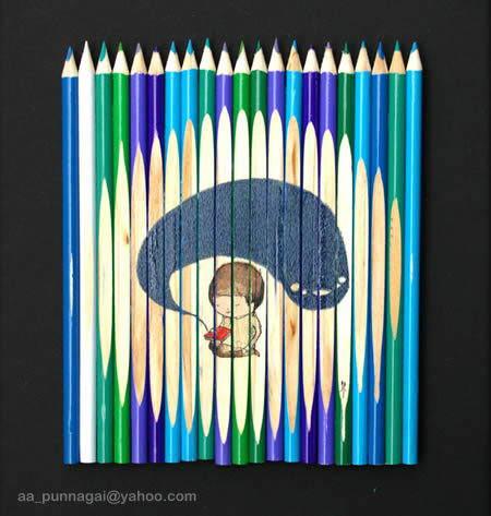 Pencil Art (Attractive)
