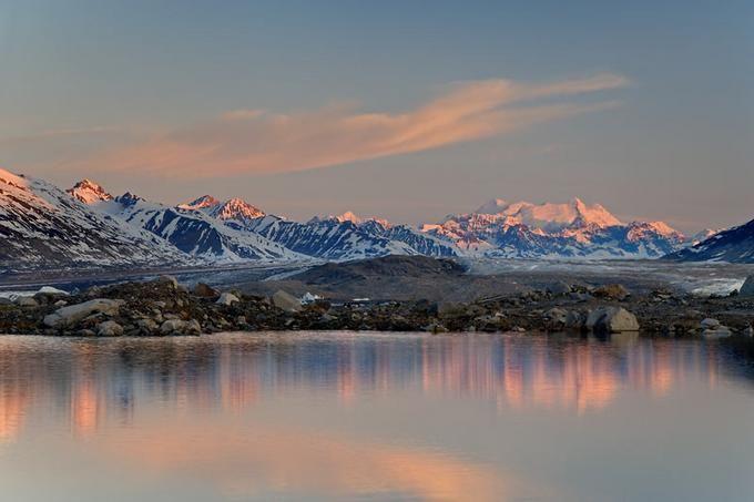 Beautiful Photos of Alsek River Lake, Canada