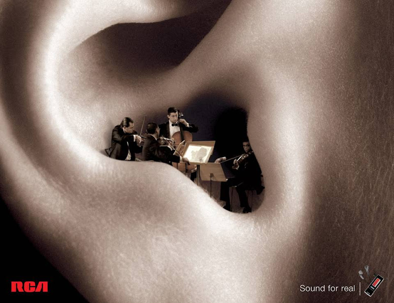 Very Creative Print Ads - You must wonder at the innovative Ad-Design teams!
