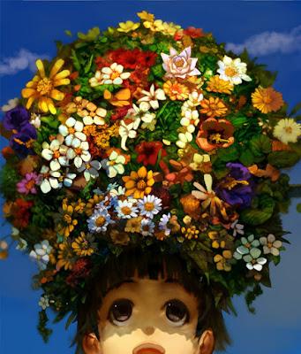 สวนดอกไม้บนหัวอุยฮารุ...
