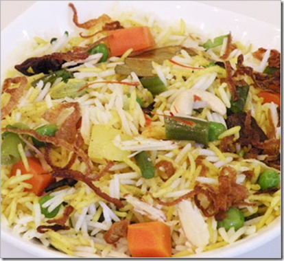 Hyderabadi_Biryani vegetaranian mughals recipe