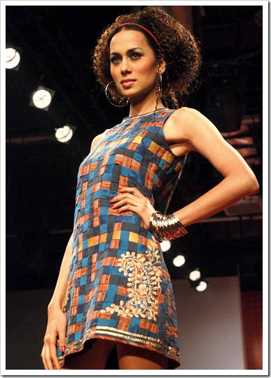 Ritu kumar's summer wear collection at LFW_5