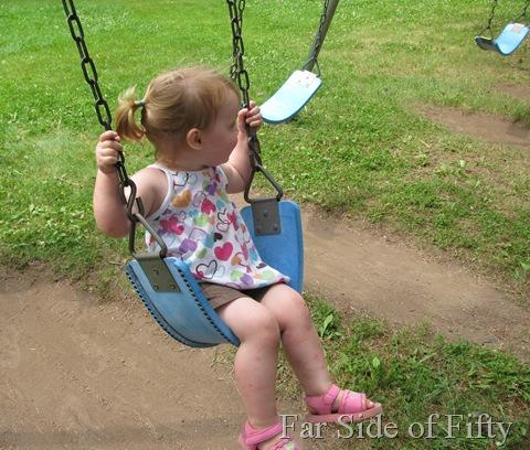Aubrey Swinging