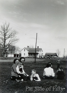 Grandma and Grandpas place in about 1949