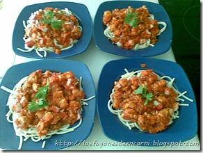 Espaguetis a la marinera  http://losfogonesdeencarni.blogspot.com/