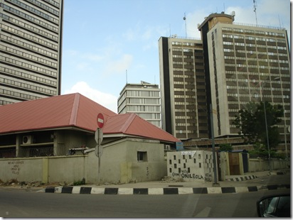 When the lagos GH ends, the Shell building starts