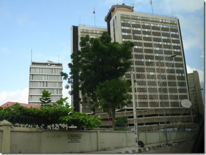 Shell building in Lagos