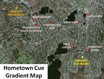 Hometown Cue Gradient Map