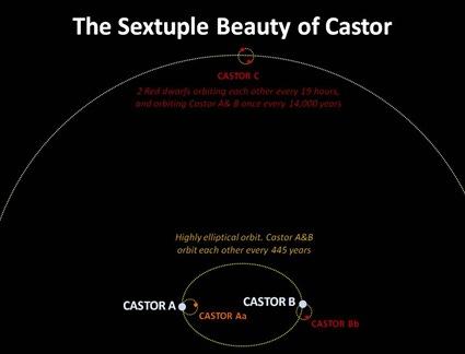 Sextuple Castor