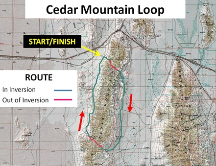 Cedar Mountain Loop Captions