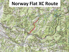 Norway Flat Route caption
