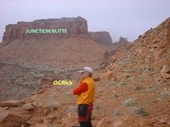 Rick Junction Butte captions