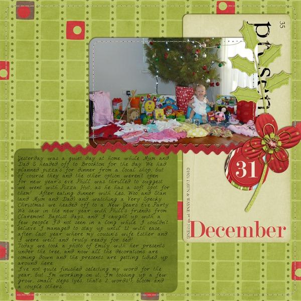 31 December 2010