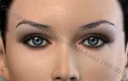 beauty of eyelids