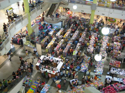 A very busy Gaisano Mall of Davao during its Midnight Sale