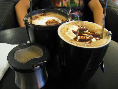 Coffeebar best sellers: Mochaccino and Creamy Cafe Mocha