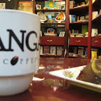 Enjoy your coffee cup while reading OMF LIT books at Kangaroo Coffee Company