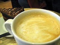Enjoy the froth of White Chocolate Mocha at Bo's Coffee Club