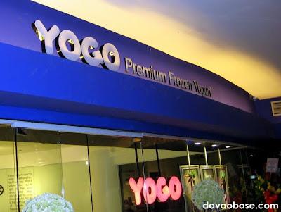 YoGo Premium Frozen Yogurt at Gaisano Mall of Davao