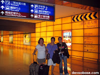 Looking for the bus terminus at Hong Kong International Airport