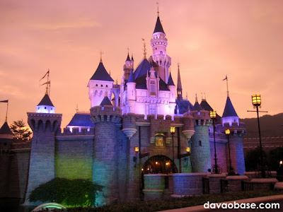 Sleeping Beauty's castle has been claimed by Maleficent during the Disneyland Hong Kong Halloween!