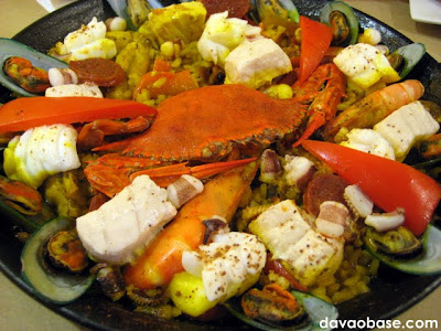 Tiny Kitchen's signature dish: Paella Valencia