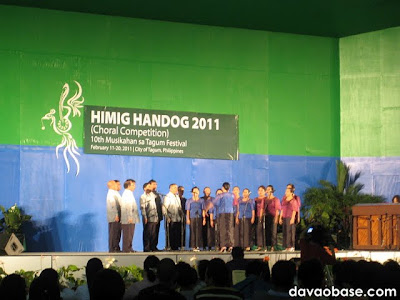 Himig Handog 2011 Choral Competition in Tagum City's new city hall