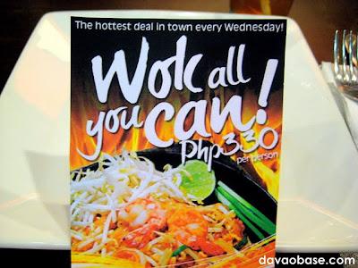Wok All You Can! at Bangkok Wok