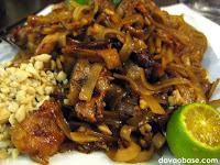Pad Thai (stir-fried noodles That style) at Bangkok Wok