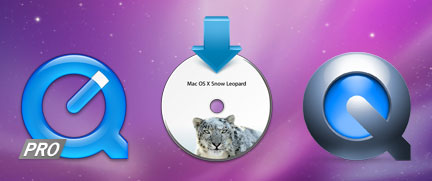 QuickTime Pro - QuickTime X - Snow Leopard