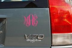 monogram-car-decal